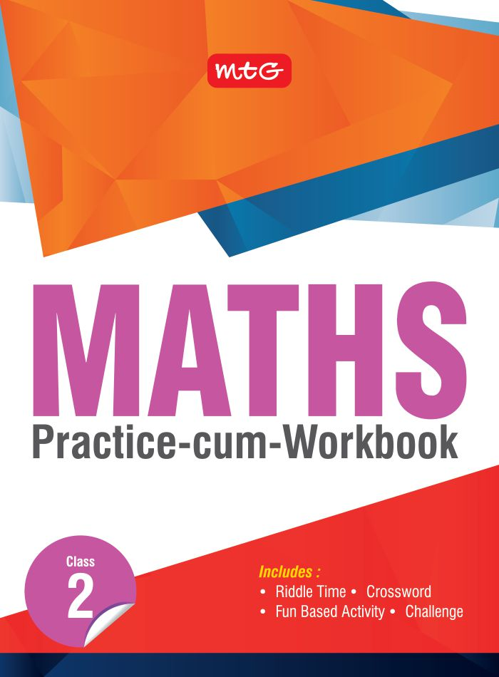 Buy Maths Practice-cum-workbook Class 2 by Mtg editorial board at ...