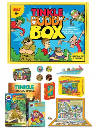 TINKLE BUDDY BOX-AGES 6+