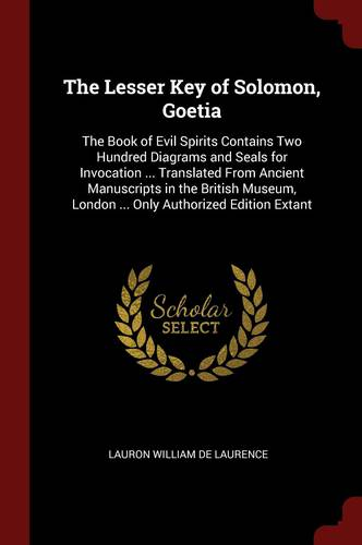 The Lesser Key of Solomon, Goetia