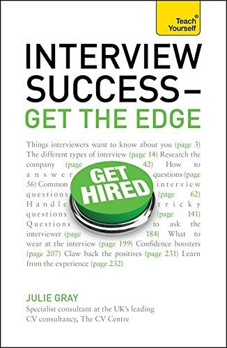 INTERVIEW SUCCESS - GET THE EDGE` TEACH YOURSELF