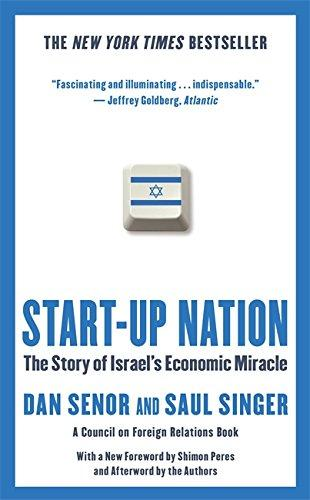 START-UP NATION`-THE STORY OF ISRAEL'S ECONOMIC MIRACLE