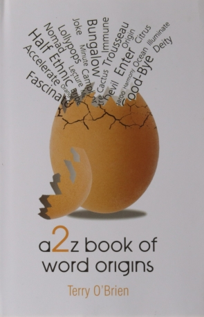 A2Z BOOK OF WORD ORIGINS - HB