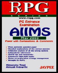 RxPG Series:PG Entrance Examination AIIMS, May 2003