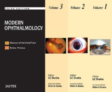 Buy Modern ophthalmology (vol 1 to 3) (complete book available in pdf  format) Written By Lc dutta at Best Price on Markmybook com