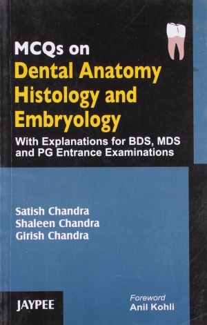 MCQs on Dental Anatomy, Histology and Embryology