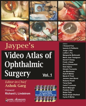 Jaypee`s Video Atlas of Ophthalmic Surgery Vol-1