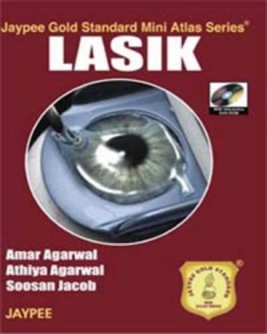 Jaypee Gold Standard Mini Atlas Series LASIK with DVD-ROM