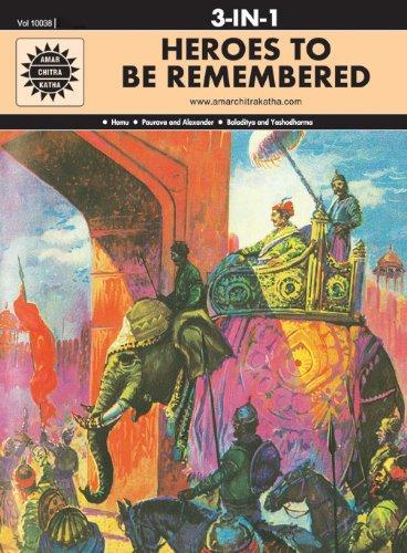 Heroes To Be Remembered (Amar Chitra Katha)