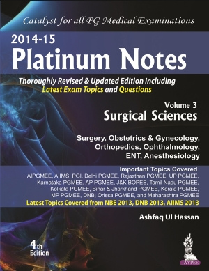 Platinum Notes: Surgical Sciences (2014