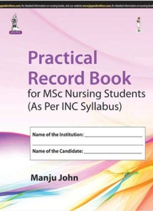 Practical Record Book for MSc Nursing Students
