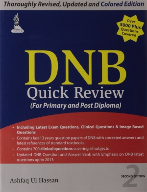DNB Quick Review For Primary and Post Diploma