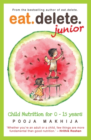 Eat Delete Junior: Child Nutrition for 0-15 Year