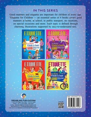Etiquette for Children Book 1  A Guide to Teach Good Behaviour