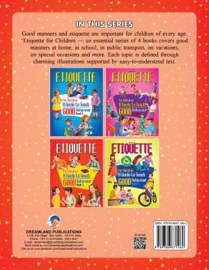 Etiquette for Children Book 3  A Guide to Teach Good Behaviour
