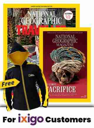 NGM + NGT COMBO 1 YR SUBSCRIPTION + FREE FLEECE JACKET WITH HOODIE
