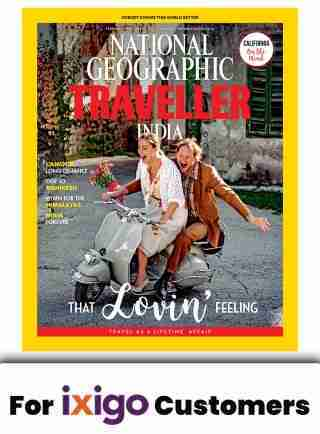 NATIONAL GEOGRAPHIC TRAVELLER 1 YEAR SUBSCRIPTION