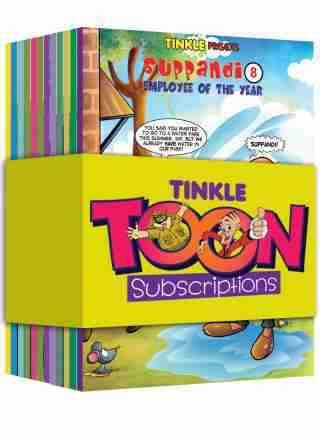 Tinkle Toons Yearly Subscription + Free Gifts worth Rs.1600